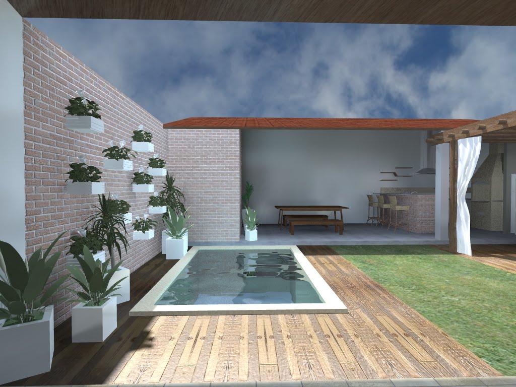 Reforma amplia o rea de lazer arquitetura - Piscinas desmontables 3x2 ...