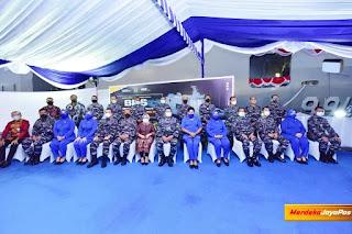 Pangkoarmada II Hadiri Penamaan Peluncuran KRI dr Wahidin Sudirohusodo-991