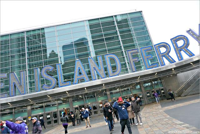 Terminal de Ferry de Staten Island en Nueva York