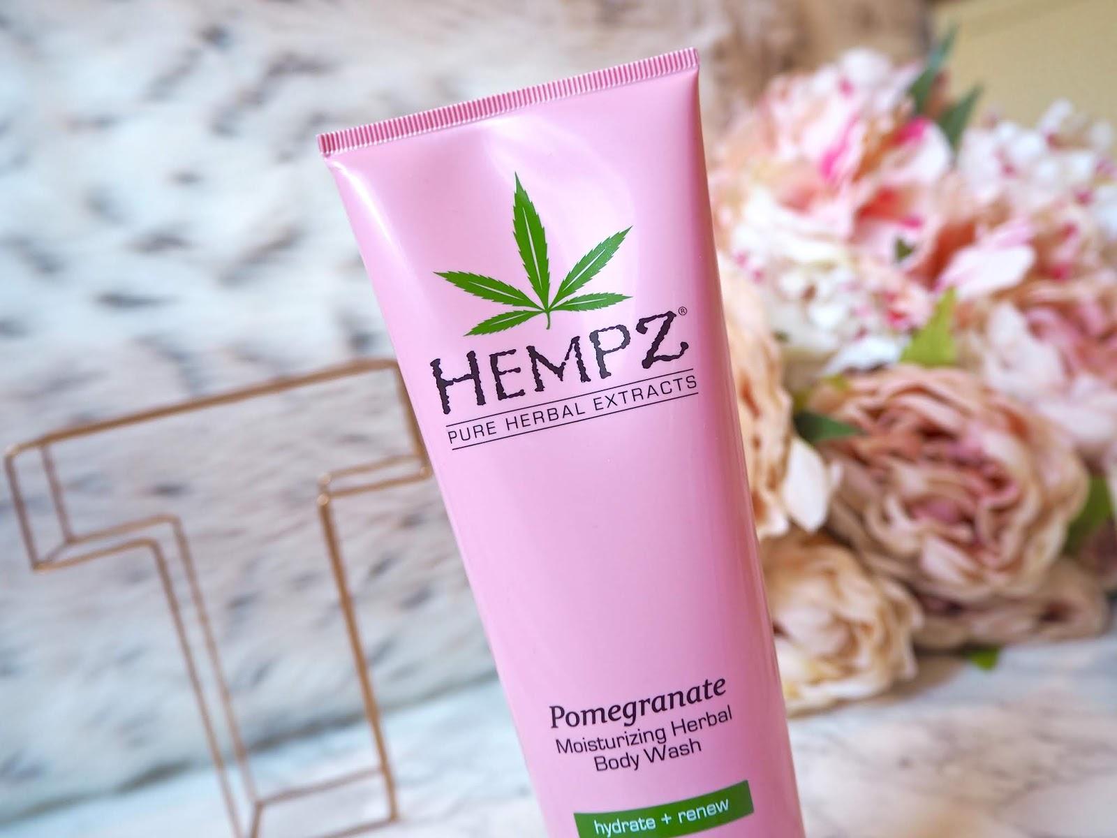 Hempz Skincare Range Pomegranate Wash