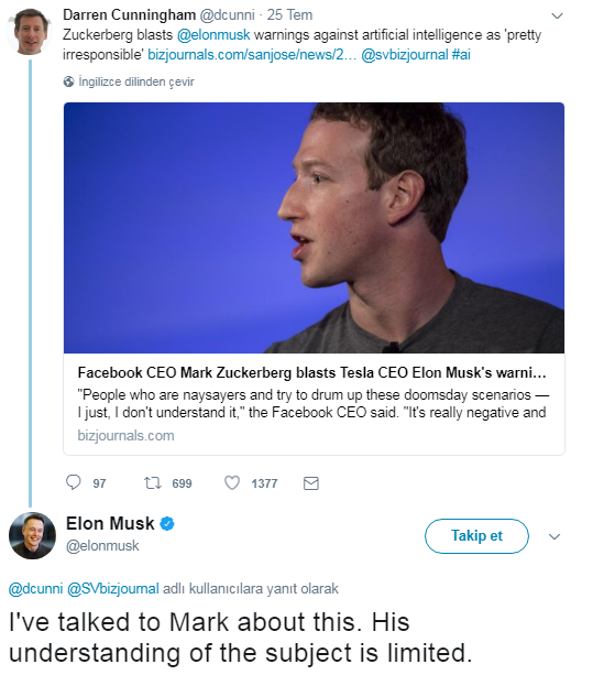 Yapay zeka tartışması