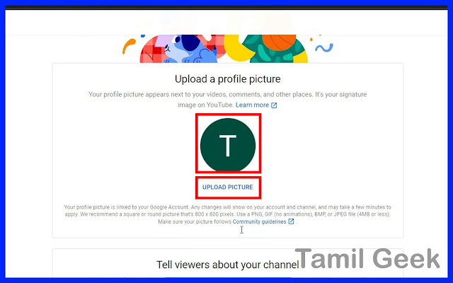 upload-a-profile-picture-to-youtube-in-tamil