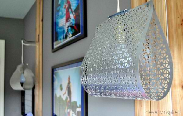 DIY Metal Sheet Light