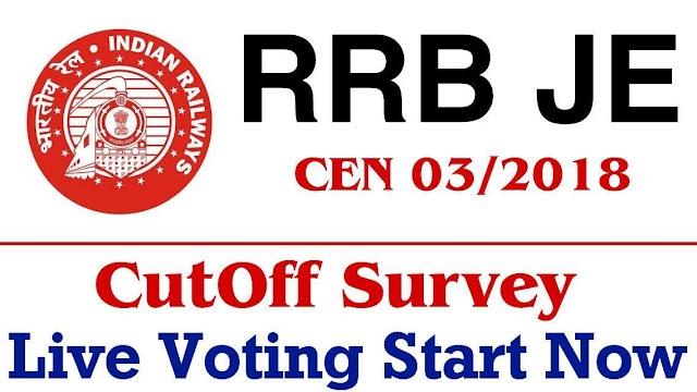 RRB JE Cutoff Survey
