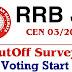 RRB JE Cutoff Survey : The Posts Of JE, DMA, CMA For CBT 2 Exam