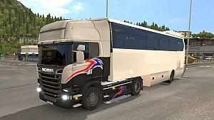 Standalone Coach Bus Trailer mod