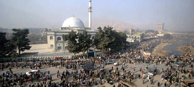 Mezquita Pul-e-Kheshti en Kabul, AfganistánUNAMA/Freshta Dunia