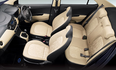 hyundai xcent seat position