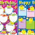BIRTHDAY CHART for Classroom (Free Download)