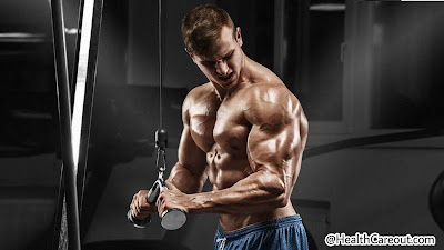 Triceps workout in gym healthcareout.com