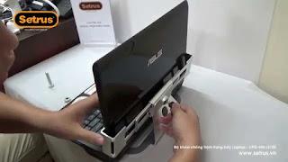 Setrus chuyên cung cấp khóa chống trộm laptop Hà Nội uy tín nhất