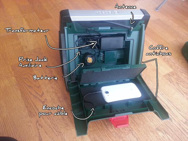 radio de chantier bosch pra multipower test et avis. Black Bedroom Furniture Sets. Home Design Ideas