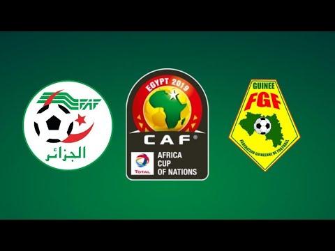 موعد نقل Guinea vs Algeria مباراة الجزائر وغينيا اليوم الاحد 07/7/2019 كورة رابط بدون تقطيع