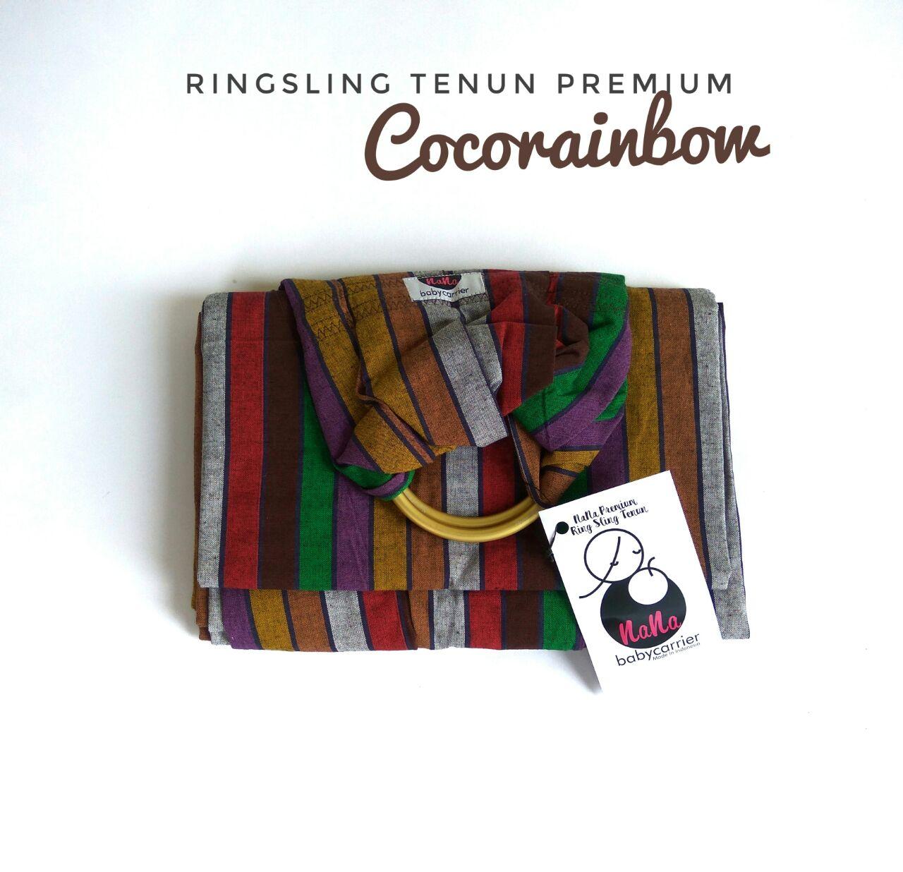 Gendongan Ring Sling Tenun Premium Nana Baby Carrier