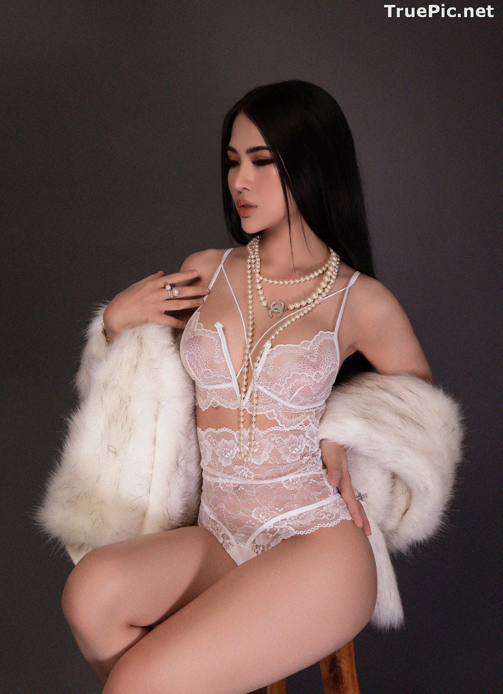 Image Vietnamese Model - Hot Beautiful Girls In White Collection - TruePic.net - Picture-3