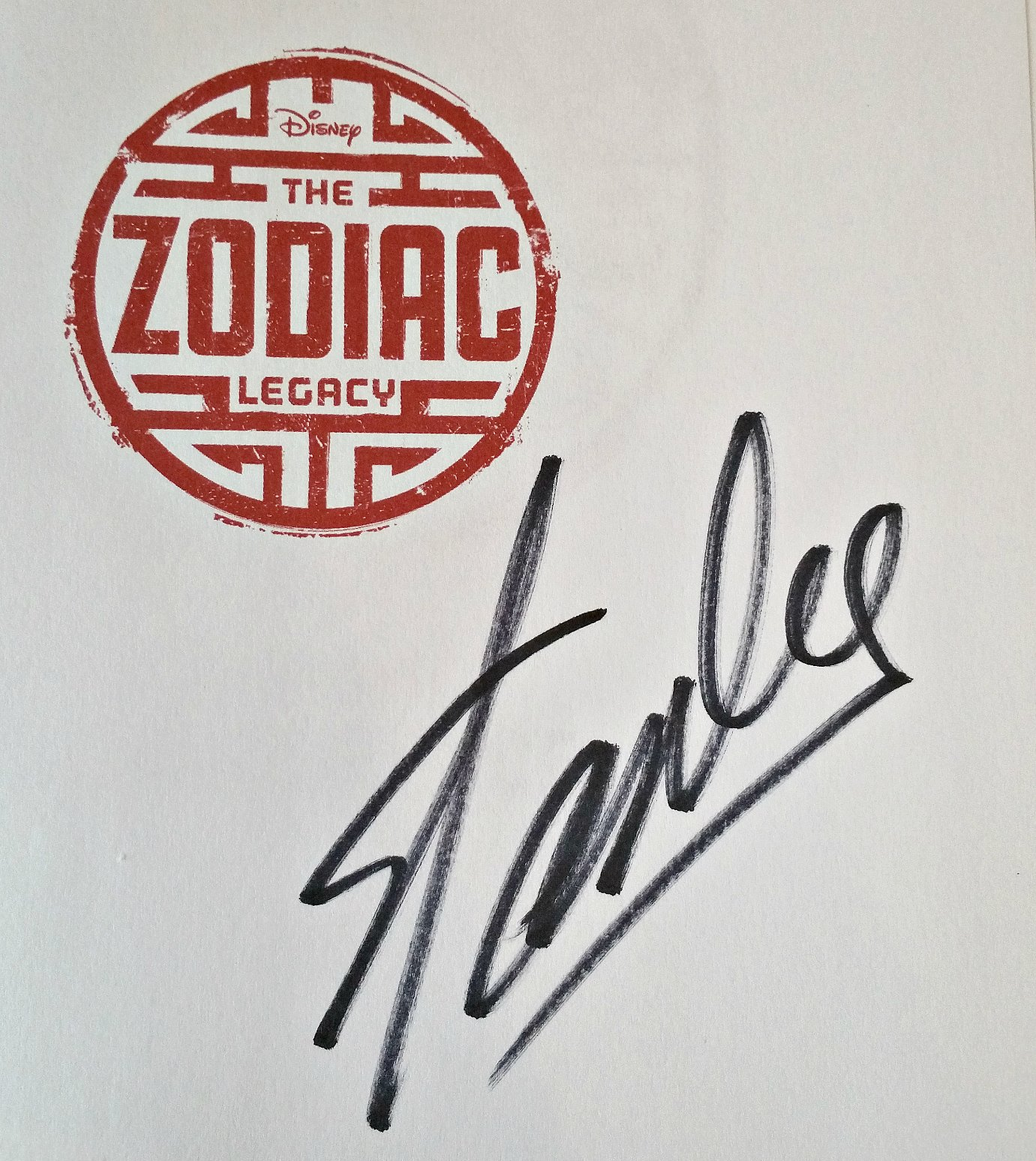 Stan Lee, Super Heroes teenager book, Disney's The Zodiac Legacy Convergence