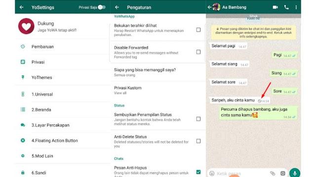 Cara Membaca Pesan WA yang Ditarik Pengirim Tanpa Aplikasi
