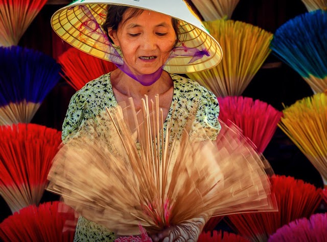 Enthralled by the unique beauty of the incense villages throughout 3 regions of Vietnam