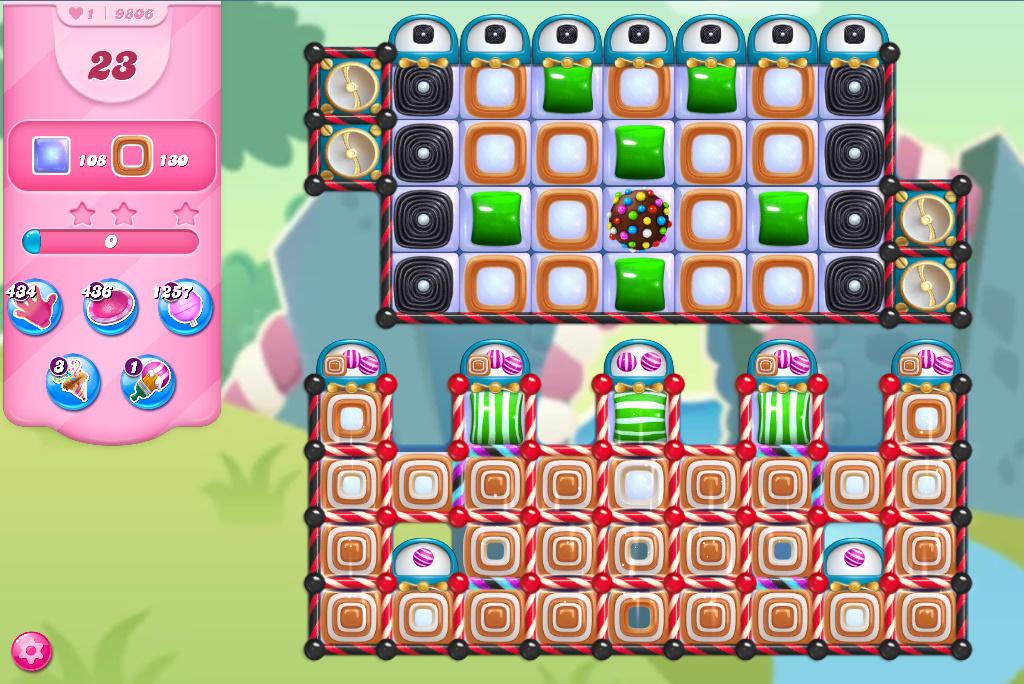 Candy Crush Saga level 9806