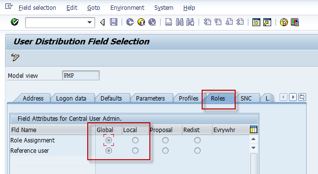 SAP Basis For Beginner: Authorization: Synchronizing roles