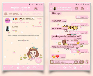 Anime Girl Cute Theme For YOWhatsApp & Fouad WhatsApp By Geise