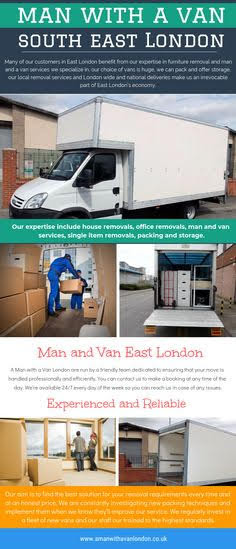 Man With a Van South West London #infographic