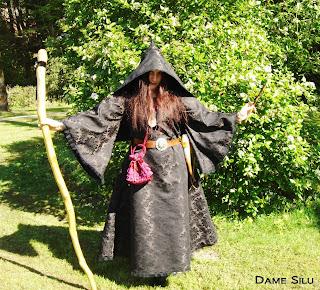 Costume mage noir