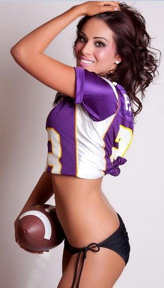 Beauty Babes 2013 Minnesota Vikings Nfl Season Sexy Babe -2335