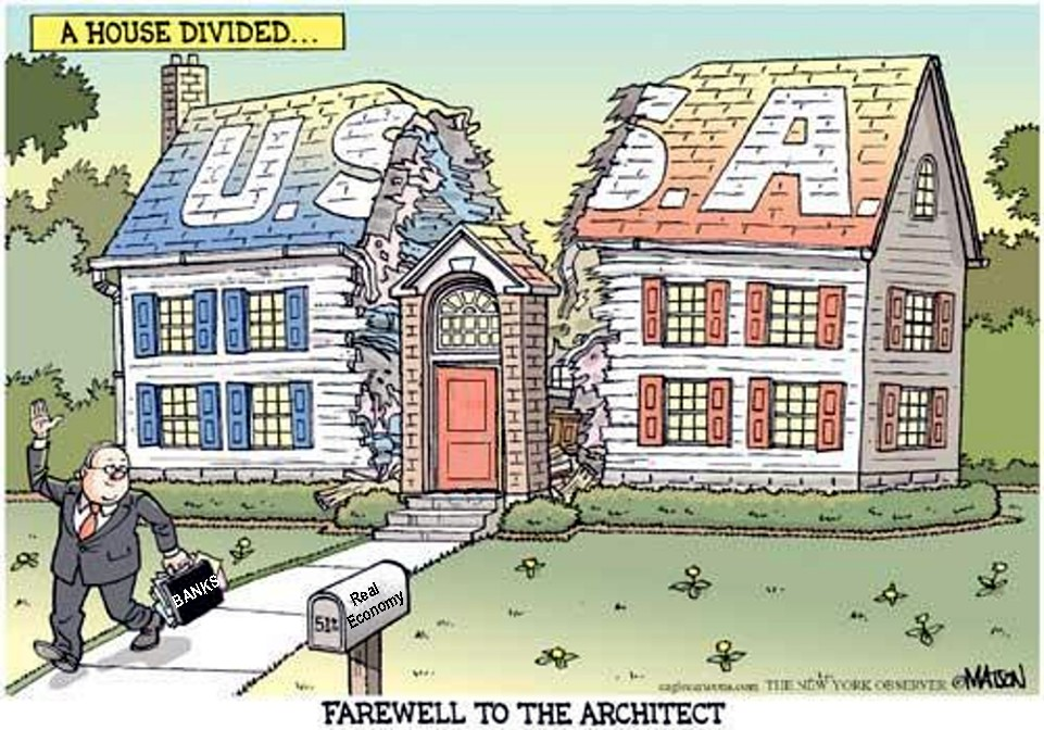 a house divided against itself cannot stand speech