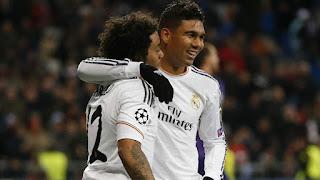Dos brasileños alcanzaron récords en el Real Madrid