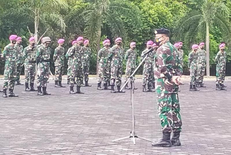 Asops Danlantamal IV: Prajurit TNI AL Bijak dalam Menggunakan Medsos