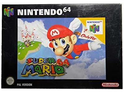 La copertina pal di ''Super Mario 64'' per Nintendo 64