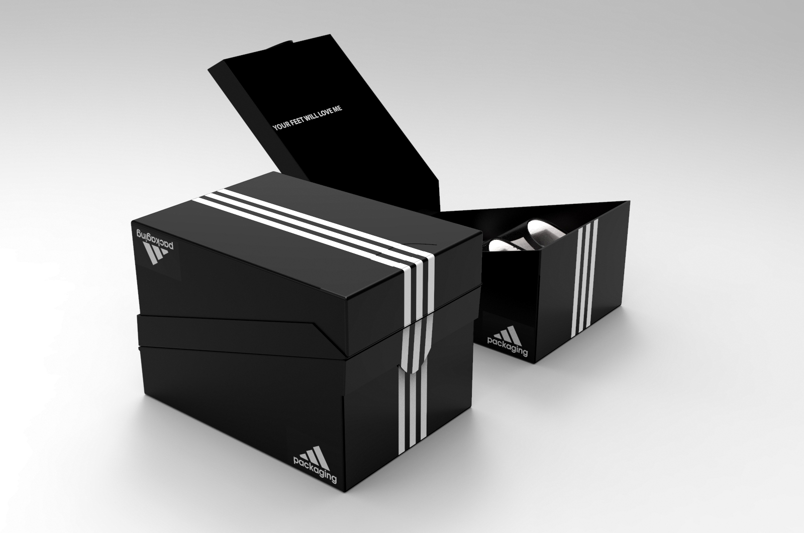 Adidas Shoe Box (Student Project) on Packaging of the World ...