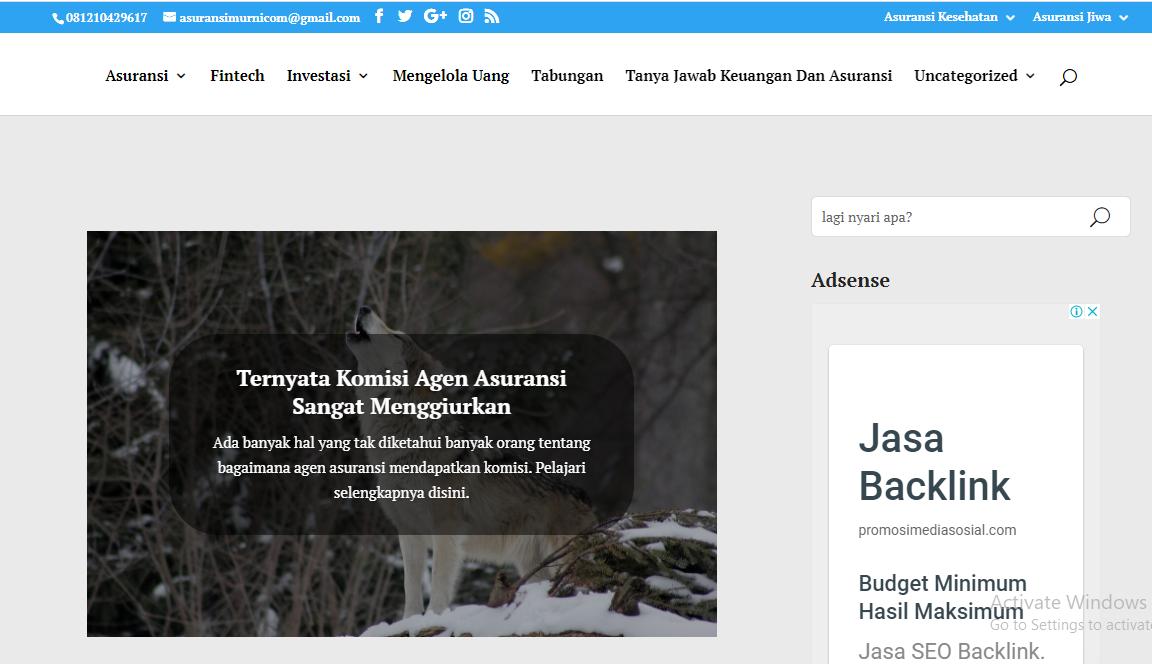"""Blog Finansial """"AsuransiMurni.com"""""""