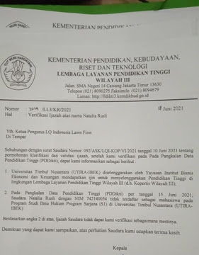 Diduga Memalsukan Ijazah, Lawyer Natalia Dan Ketua Peradin Dilaporkan Ke Polisi