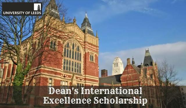 منحة العميد للتميز الدولي بجامعة ليدز بالمملكة المتحدة 2020