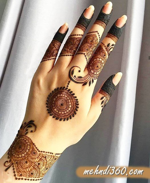 Perfect Mehndi Design Back Hand