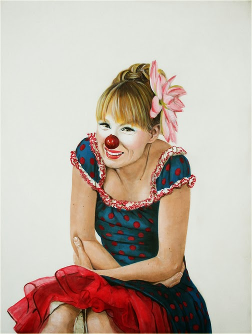 ©Holly Farrell - Clowns. Pintura | Paintings