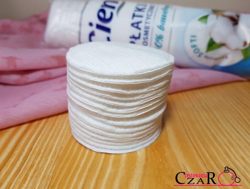 Płatki kosmetyczne 100% bawełny CIEN