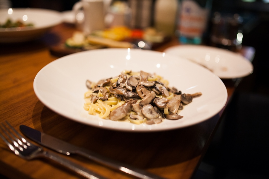 noodles italian dish