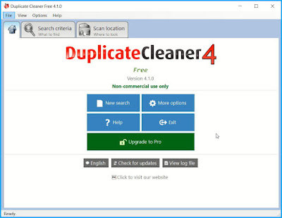 Duplicate Cleaner Free: Διαγράψτε τα διπλά αρχεία