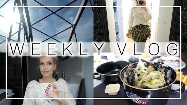 Weekly vlog