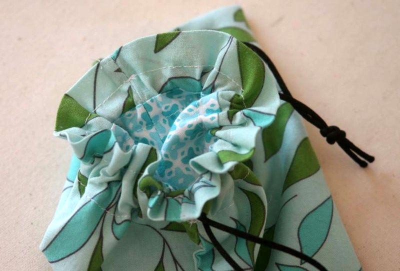Better Lined Drawstring Bag Tutorial