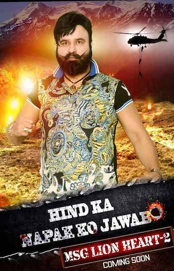 Hind ka NaPak Ko Jawab MSG Lionheart 2 2017 Official Trailer 720p HD Download