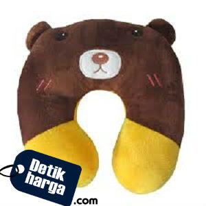 Spicegift Bantal Leher Telinga Boneka Teddy Bear (Beruang)