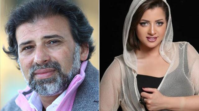 منى فاروق تهدد بالانتحار بسبب فيديو لها مع المخرج خالد يوسف.