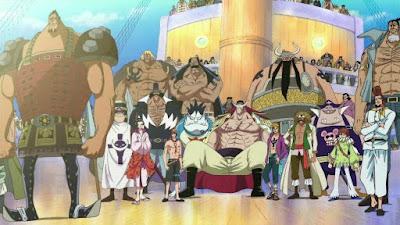 Daftar Anggota Bajak Laut Shirohige One Piece