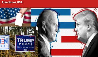 El complejo desenlace de las elecciones USA 2020. Geopolítica en Radio esperantia