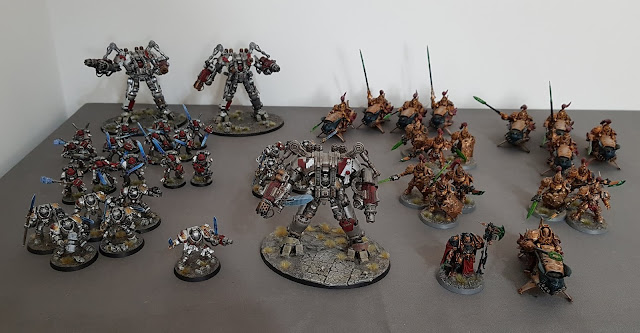 Featured in Winters SEO Deployment Zone battle report: Thousand Sons vs Adeptus Custodes and Grey Knights. 3000 points Decapitation Strike.
