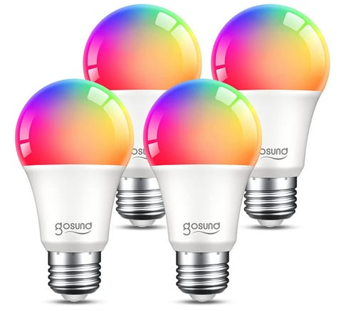 TanTan Dimmable Color Changing Smart WiFi Light Bulbs